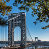 George Washington Bridge from Fort Lee, NJ 10/27/17