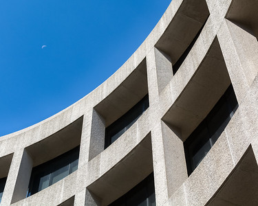 Hirshhorn Museum Curves and Moon Counterpoint