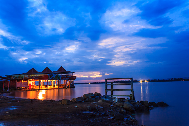 Restaurant on Lake Victoria