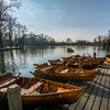 Rowboats on Lake, Germany