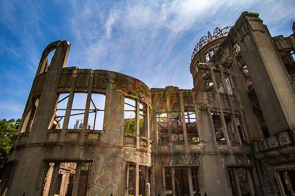 The Hiroshima Peace Memorial (Genbaku Dome)