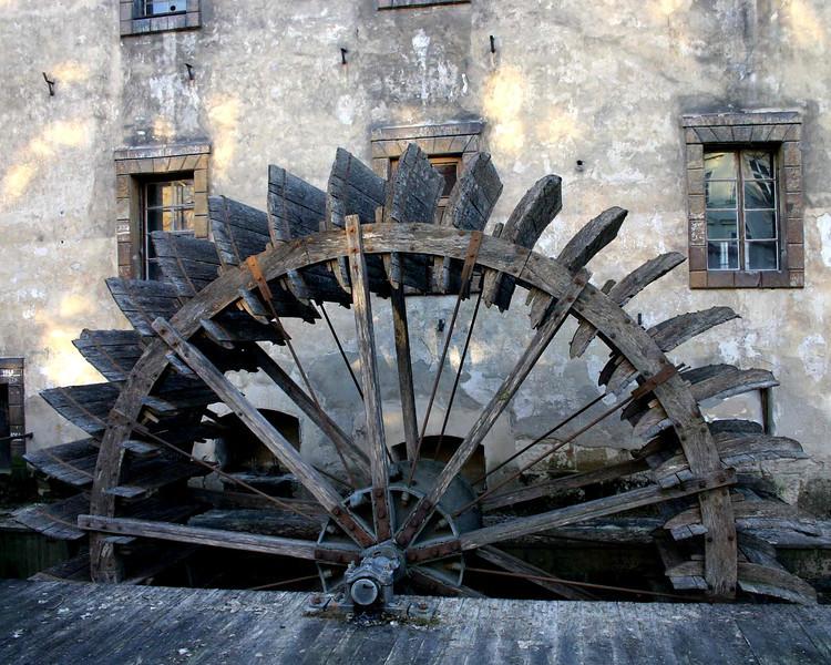 Waterwheel Prague Czech Republic