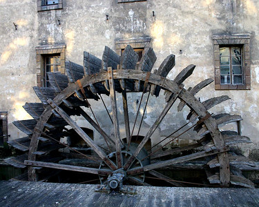 Waterwheel Prague Czech Republic