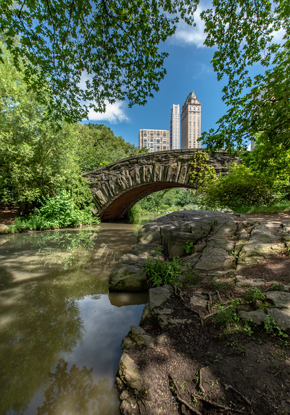 Gapstow Bridge in Central Park, New York City 6/28/18