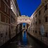 Bridge of Sighs in Venice Italy 3/23/19
