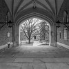 Ribbed Vaulted Walkway at Princeton University 1/19/17