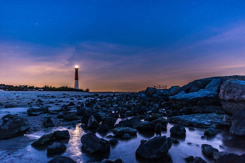 Predawn Colors Over Barnegat Lighthouse 2/17/18
