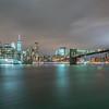 Manhattan Skyline & Brooklyn Bridge 1/28/17