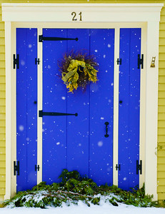 Winter Doorway / Norwich, Vermont