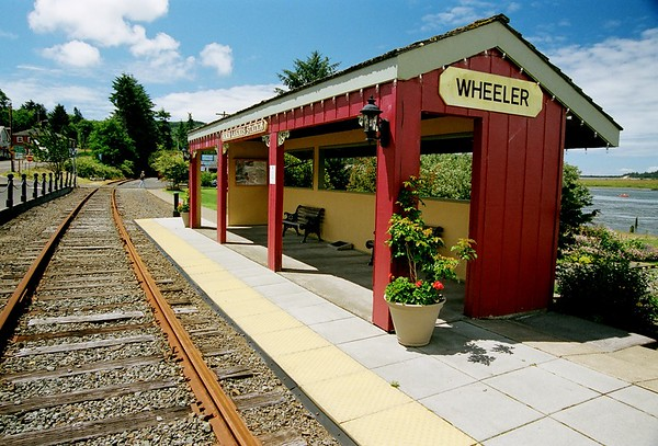 Wheeler train station