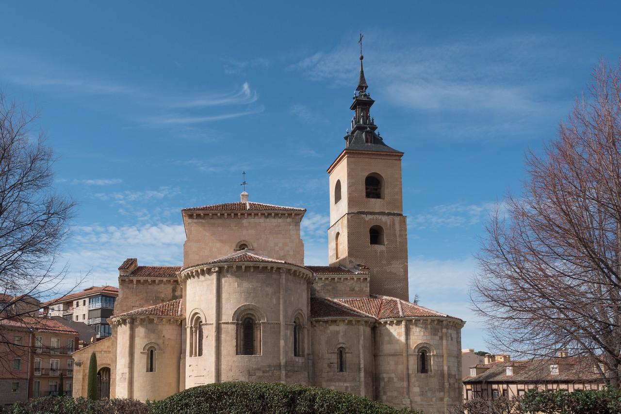 Segovia San Millán Church
