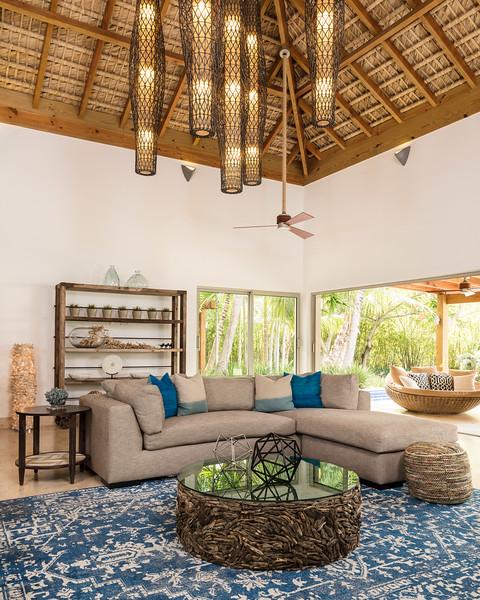 Living Room; Casa de Campo, Dominican Republic