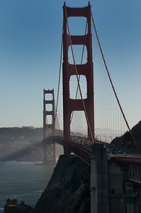 Shadows of Golden Gate