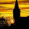 Church Silhouette at Sunrise 2/9/19