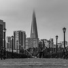 A View Down Pier 7 To The Transamerica Building, San Francisco, CA 11/6/19