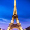 Eiffel Tower || Paris, France<br /> <br /> Canon EOS 6D w/ EF24-105mm f/4L IS USM: 40mm @ 4.0 sec, f/8, ISO 100