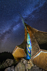 Sea Ranch Chapel and the Heavens, Study 3