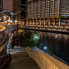 Riverwalk Along Chicago River 9/13/16