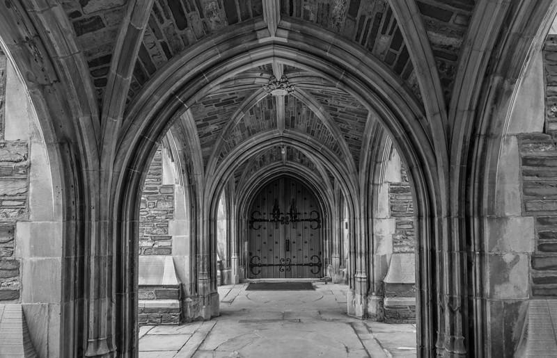 Ribbed Vaulted Walkway at Princeton University 1/19/17