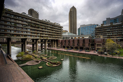 The Barbican Estate, London