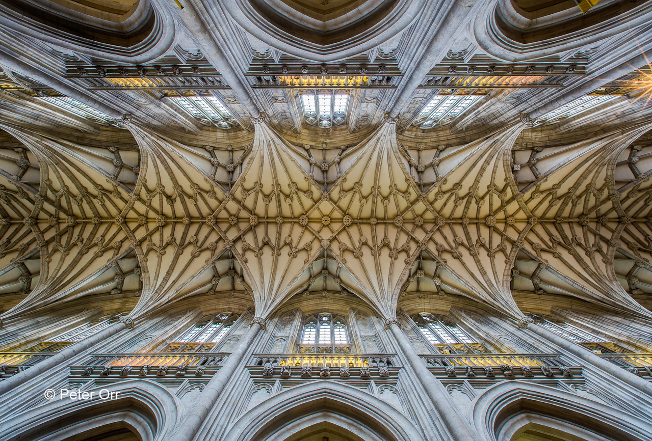 Winchester Cathedral Ceilings