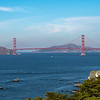 The Golden Gate Bridge, San Francisco, CA 11/6/19