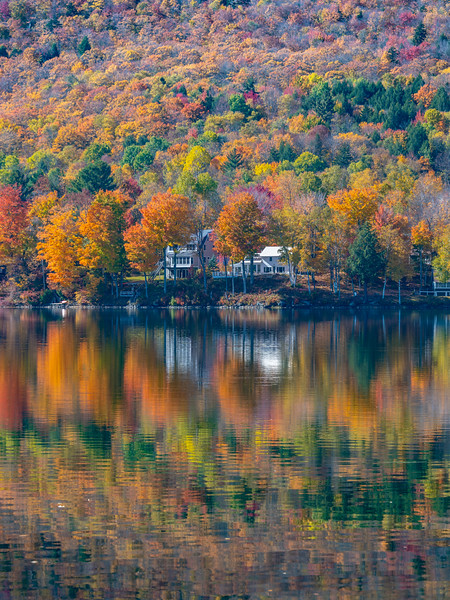 An Autumn Reflection In Vermont 10/13/21