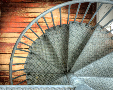 Spiral Metal Staircase 2277