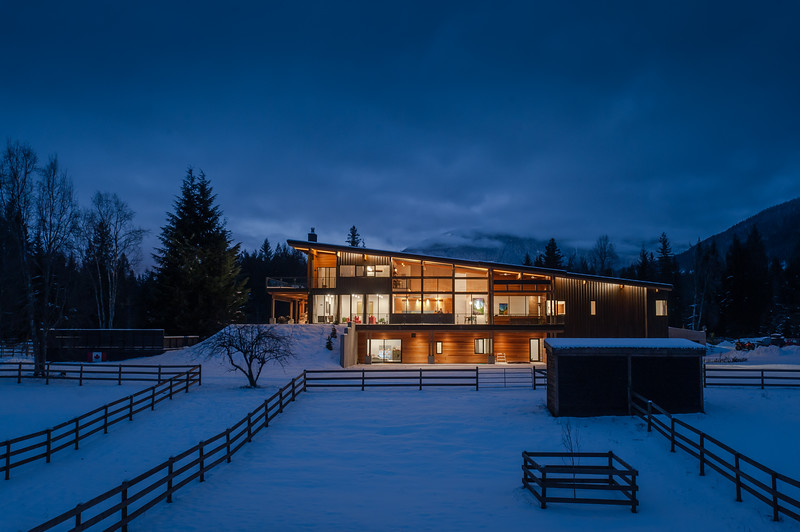 Purcell build in Revelstoke