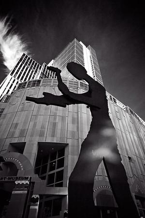Hammering Man - Seattle Art Museum