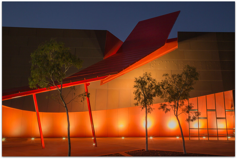 Museum and gum trees