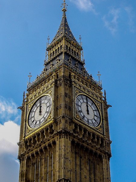 Noon GMT -- Big Ben