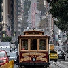 A Cable Car Street View, San Francisco, CA 11/6/19