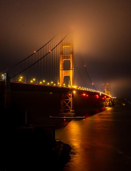 The Golden Gate Bridge, San Francisco, CA 11/6/19