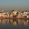 As the Sun Sets on Pushkar Lake