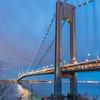 Verrazano Bridge at Dusk 1/12/17