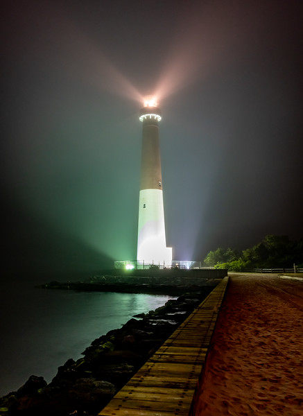 A Foggy Night at the Barnegat Lighthouse 6/10/19