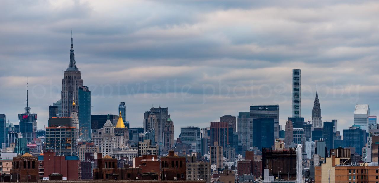 New York City Skyline 1/28/17