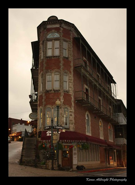 Flatiron Building, Eureka Springs, Arkansas