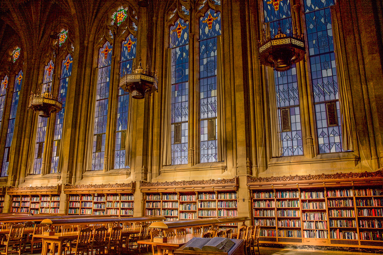 Exquisite Suzzallo Library