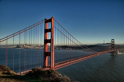 Golden Gate from the Bluff