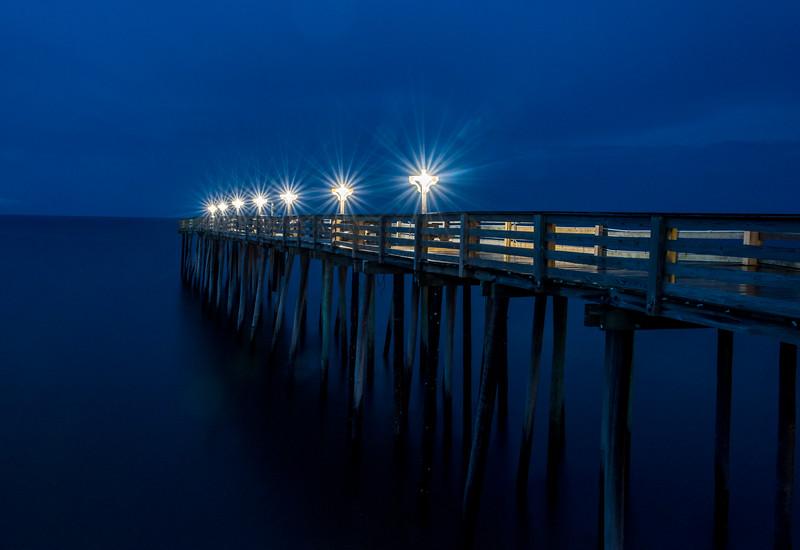 Dusk Over Kitty Hawk Pier, Outer Banks 8/11/18