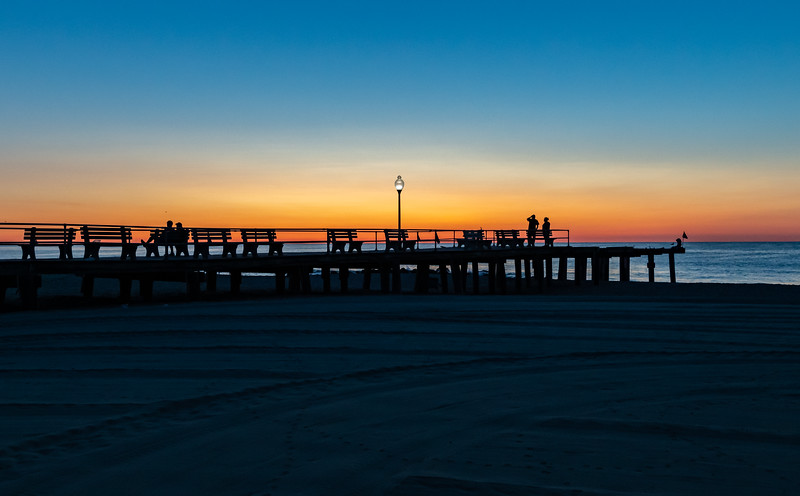 Predawn Colors Over Ocean Grove Pier 8/11/19