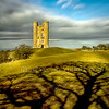 Broadway Tower & Tree Shadow