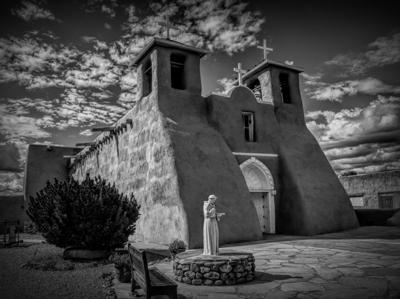 The historic San Francisco de Asis mission