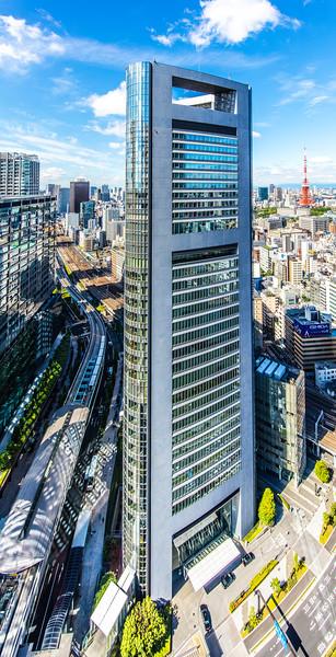 Giant Shiodome Media Tower, Tokyo