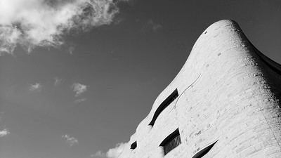 National Museum of the American Indian in low angle