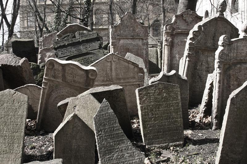 Jewish Cemetery  Prague, Czech Republic