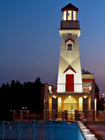 Port Credit lighthouse, Ontario.