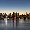 Predawn Colors Behind Manhattan 11/29/20